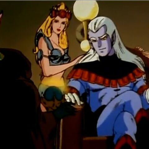 Lotor and his harem.
