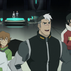 There are no dressing rooms or walls there. How did they not find out that Pidge was a girl when they all stripped down and suited up in the same room?