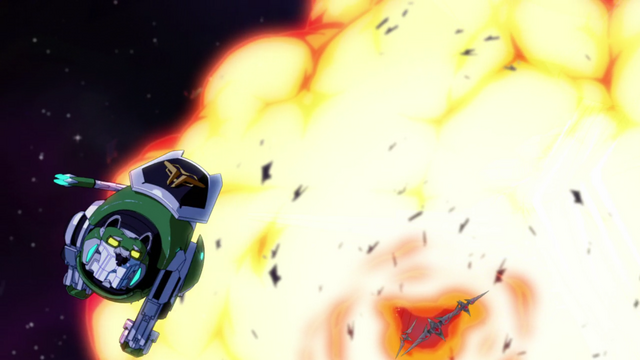 File:106. Green Lion escaping fireball.png