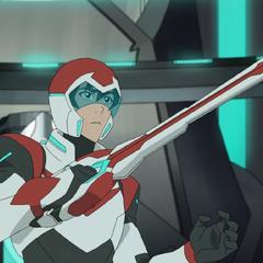 Keith's Bayard manifests as a sword.