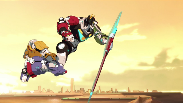 File:S2E04.264. Voltron lunging down with shield.png