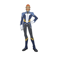 Coran's casual outfit.