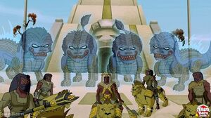Lionriders withghosts