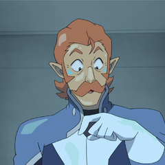 Coran has a moment of insp- ahem, perspiration.
