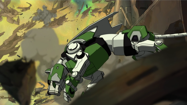 File:S2E01.18. Green side view during tumble.png