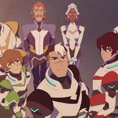 Team Voltron's first victory.