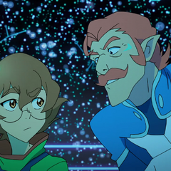 Coran doesn't think much of human intelligence. Pidge doesn't think much of Coran's prized mustache. Nobody's perfect.