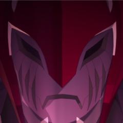 Zarkon puts on a kabuki demon mask because <i>drama</i>!