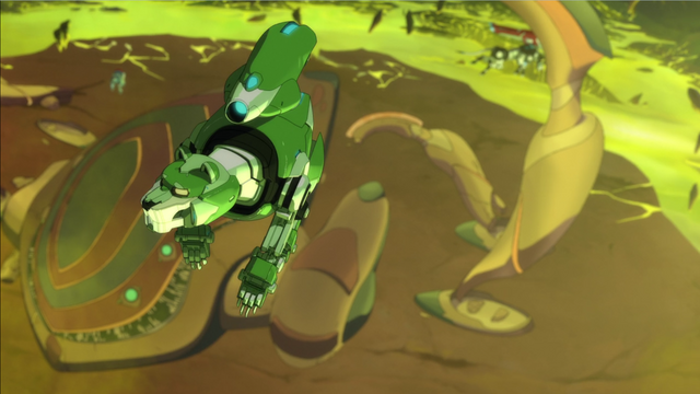 File:S2E06.124. Green Lion flying above Ark.png