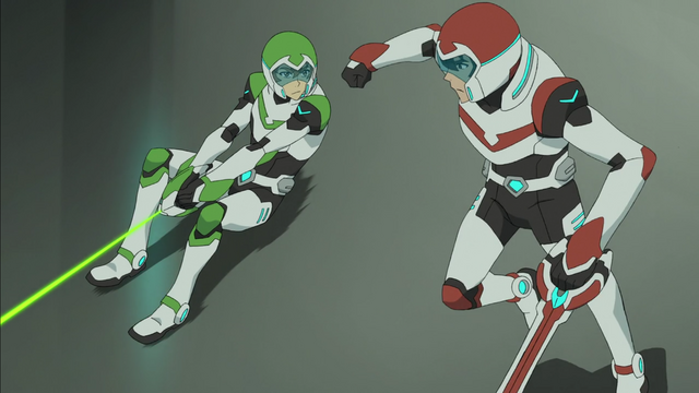 Image result for keith and pidge plan