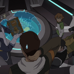 Coran displays the rule book. Seems kinda low tech.