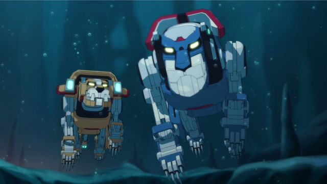 File:S2E02.302. Blue ready to charge off with Queen.png