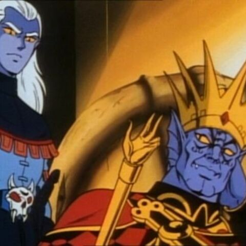 Lotor resembles his father greatly when it comes to evil.
