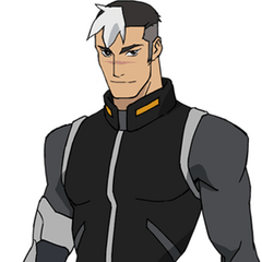 Shiro's casual outfit in Season 1 and 2.