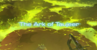 Voltron S2 Title Ark of Taujeer