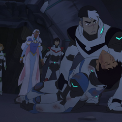Shiro promptly forgets every bit of the first aid training he undoubtedly had.