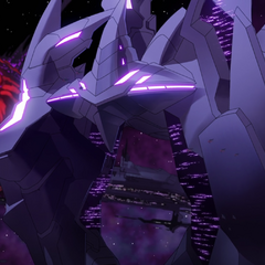 Closeup of Galra Empire core ship.