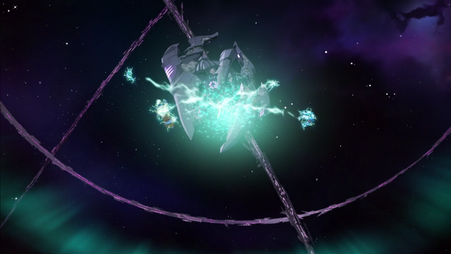 File:95. Lions being blown apart from Voltron.png