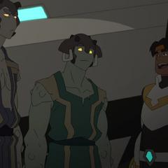 Rax, Shay, and Hunk.