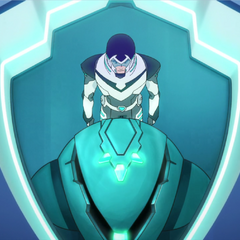 Shiro gets to ride an elevator before his zip line.