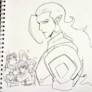 Art by Director of Voltron, Eugene Lee