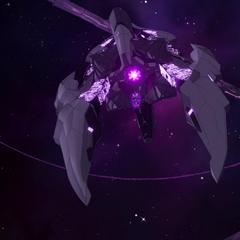 Zarkon's main ship pulls in the Black Lion.