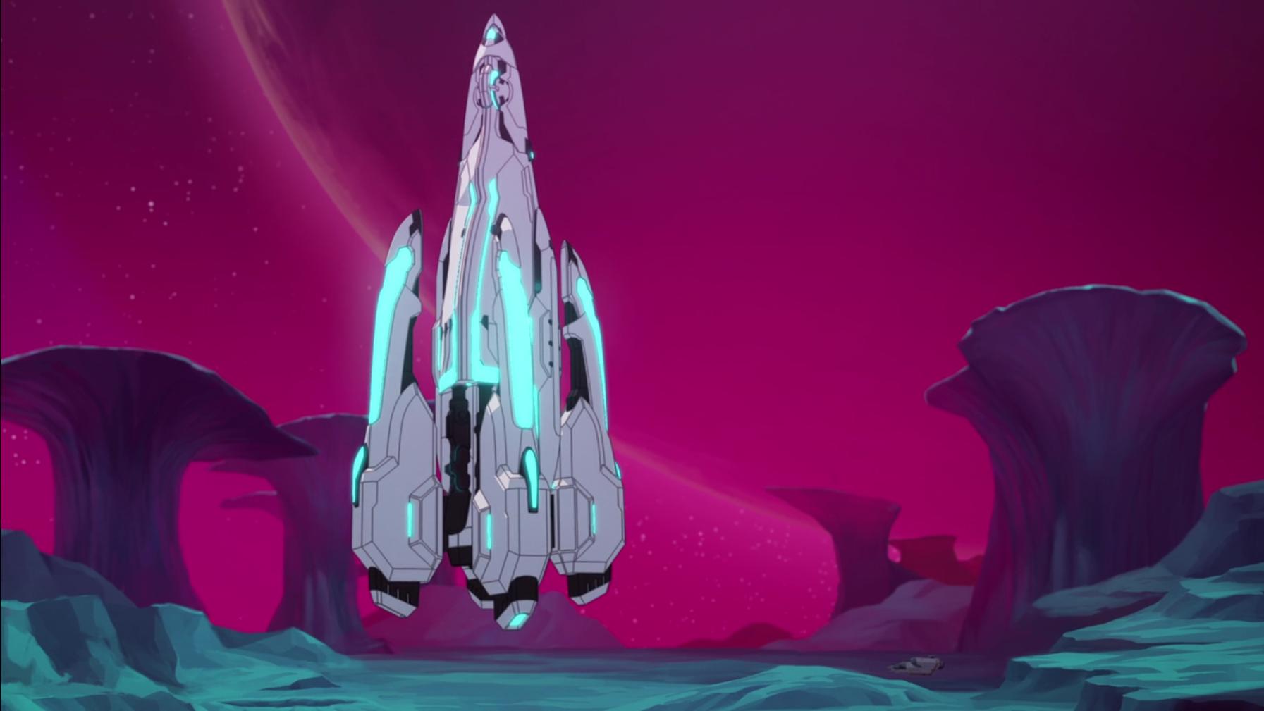castle goes vertical for landingpng