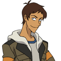 Lance's casual outfit.