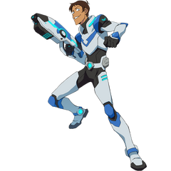 Lance in his Paladin Armor, wielding his energy rifle
