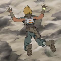 ♪Free fallin', we're free fallin~♪
