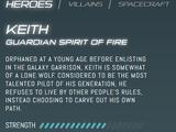 Keith (Legendary Defender)/Gallery