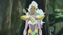 S6E3. Allura as the Mystical Archer of Valley Yoon