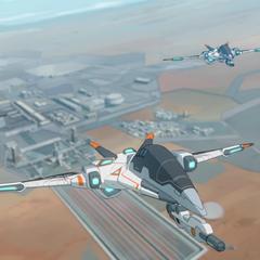 First flight of the first-gen MFE's.