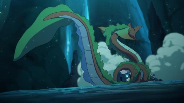 File:S2E02.349. The Baku traps Blue Lion in its coils.png