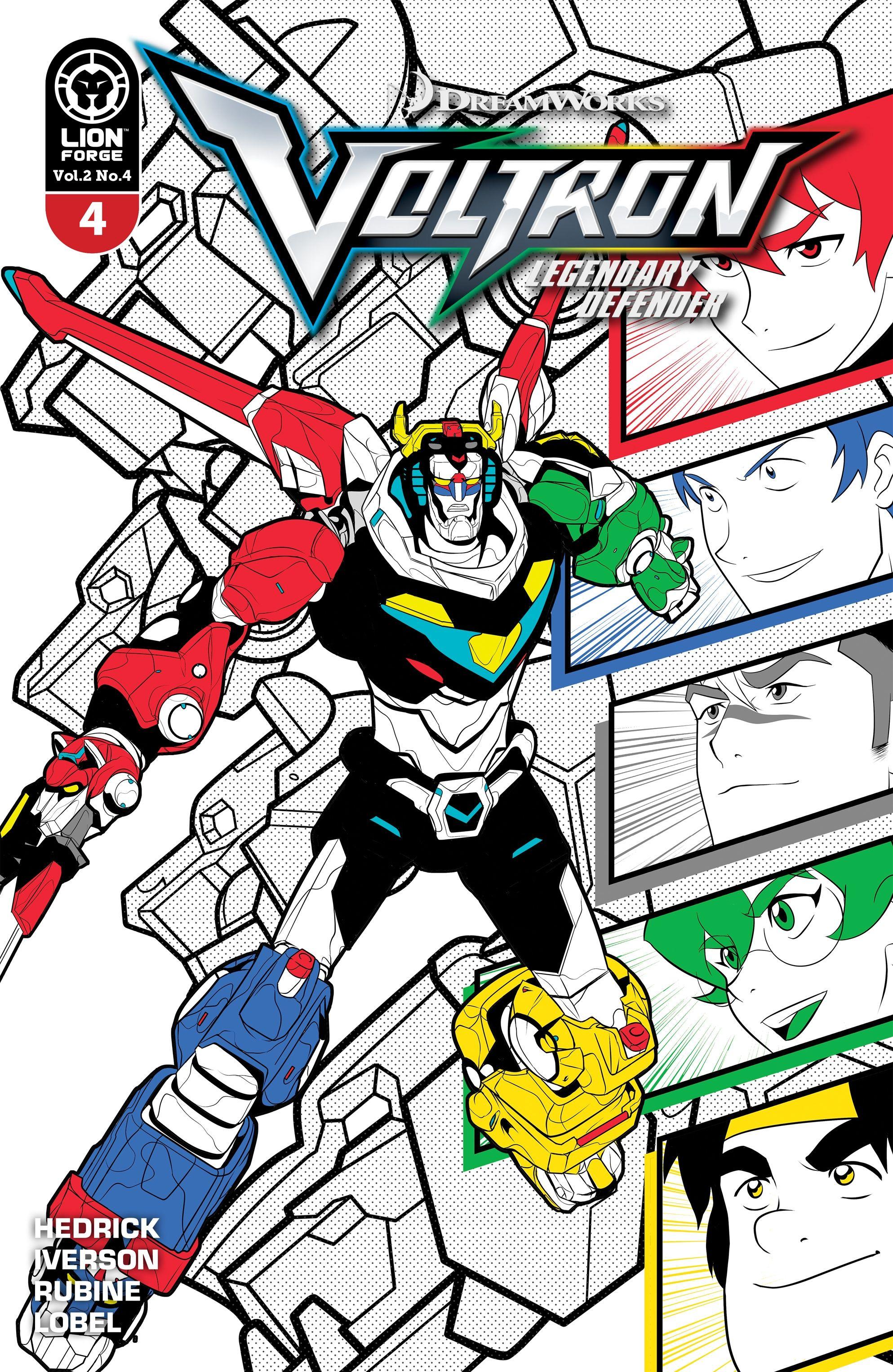 Volume 2 Issue 4 Voltron Legendary Defender Wikia