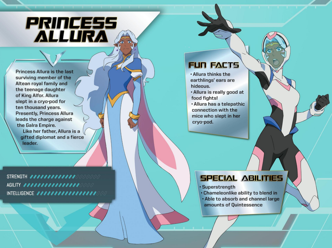 The Paladin's Handbook (VLD) | Voltron: Legendary Defender Wikia