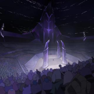 The gladiator arena.