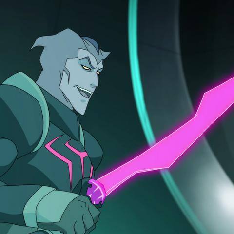 Energy sword.