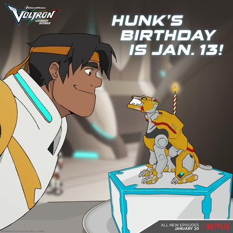 Birthday announcement.