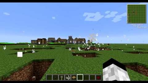 Minecraft Voltz S-Mine Test