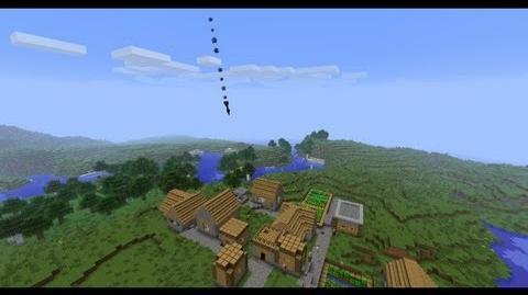 Minecraft Voltz Antimatter Missile Launch