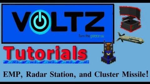 Radar, Emp, and Cluster Missiles (ICBM) Voltz Tuto