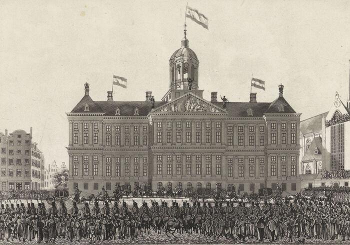 SceneNapoleonAmsterdam1811 RIJKS