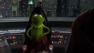 Revenge of the Sith but Kermit is Chancellor Palpatine