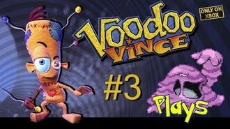 Voodoo Vince Walkthrough 100% - Part 3 (Muk Plays)
