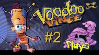 Voodoo Vince Walkthrough 100% - Part 2 (Muk Plays)