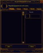 Refining interface plain