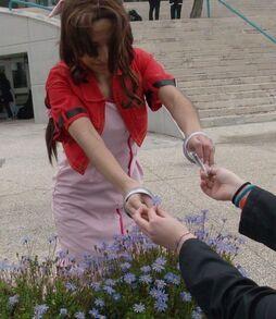 Aerith the florist by blueshowl-d3balo4