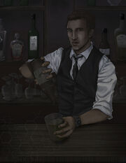 Assassin Creed The Bartender by pen gwyn