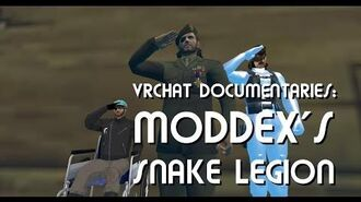 VRChat Documentaries Moddex and the Snake Legion